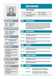 layout cv resume cv vector concept layout in a4 format business resume