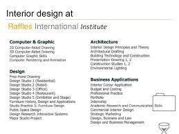 Interior Designers Institute Raffles Institute Advice For Aspiring Interior Designers