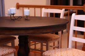 How To Decorate A Dining Room Wall Refinish Dining Room Table Veneer Top With Ideas Photo 7216 Zenboa