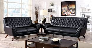 Modern Sofa Sets Living Room Sofa Gray Leather Furniture Sets Modern Grey Living Room Tufted