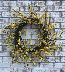 forsythia wreath seasons of williamsburg forsythia wreath