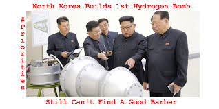 Korea Meme - north korea builds 1st hydrogen bomb meme