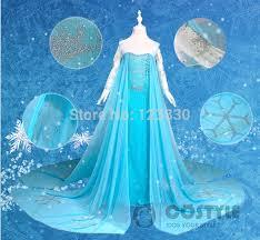 Elsa Halloween Costume Girls Elsa Frozen Costume Chinese Goods Catalog Chinaprices Net