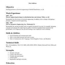 Electrical Engineer Fresher Resume Sample Electric Engineer Professional Resume Samples Fresher
