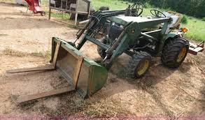 john deere 650 tractor item b2439 sold wednesday august