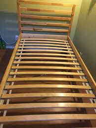 Slatted Bed Frames Ikea Tarva Bed Frame With Slatted Bed Base In 5miles Ikea Bed