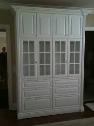 Bedroom Storage Cabinets With Doors Bedroom Storage Cabinet Traditional Bedroom New York By