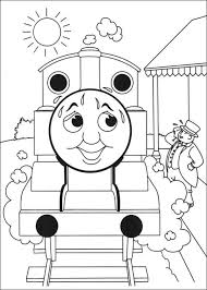 thomas tank engine coloring pages 7 coloring kids