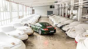 porsche 911 irish green one millionth porsche 911 irish green rolls off production line