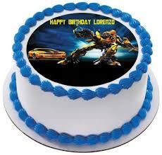 transformer cake toppers transformers 2 edible birthday cake or cupcake topper edible