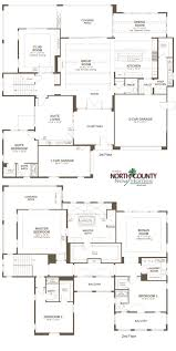 Floor Plans For 2 Story Homes by The Summit At San Elijo Hills Floor Plans North County New Homes