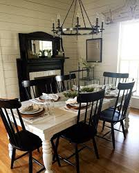black dining room black and white dining table furniture chairs 50s style scs1