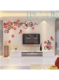 Creative Wall Decorative D Birds MultiColor D Wall Sticker - Home decor wall art stickers