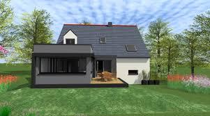 extension maison contemporaine cout d une construction maison evtod