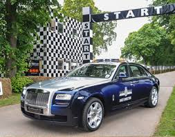 rolls royce racing rolls royce ghose extended wheelbase goodwood festival of speed