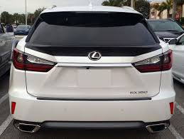 lexus rx 350 price in ksa 2015 2016 lexus rx350 tesoro rear trunk lip spoiler unpainted ebay