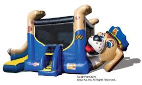 dallas party rentals dog bounce house slide combo dallas party rental
