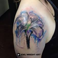 watercolor tattoo purple and pink tree tattoo inspired by the
