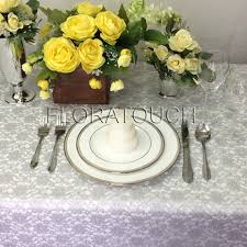silver lace table overlay silver lace tablecloth overlay