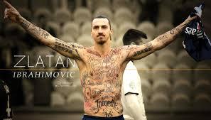 tattoo ibrahimovic names zlatan ibrahimovic tattoos football 24x36 inches silk art poster in