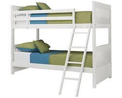 City Furniture Lauren White Bunk Storage Bed - White bunk bed with desk