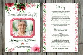 Elegant Funeral Programs Funeral Invitation Template Funeral Programs Funeral Program