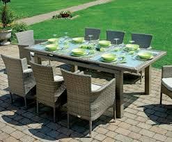 tavoli da giardino rattan tavolo pranzo allungabile poitiers rattan sintetico da giardino