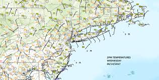 Surface Map Father U0027s Day Weather Showers Around Weather Updates 24 7 By