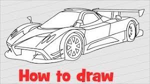 hmongbuy net how to draw a car lamborghini veneno roadster step