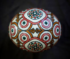 painted ostrich eggs handmade and handpainted ostrich eggs from russia handmade