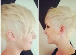 side and front view short pixie haircuts 15 trendy long pixie hairstyles popular haircuts