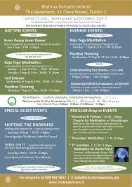 brahma kumaris ireland upcoming events courses in september
