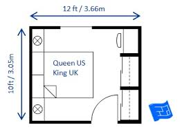 Normal Size Of A Master Bedroom Another 10 X 12ft Small Bedroom Design For A Queen Size Bed This