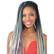 braided extensions fashion source rasta afri highlight jumbo braid 50 synthetic