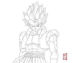beautiful gogeta coloring pages 81 for your free coloring book