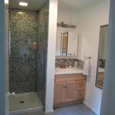 Showers In Small Bathrooms Remodel Shower Stall Bathroom Traditional With Arch Shower Door