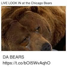 Da Bears Meme - what bears fans see whateveryone else sees memes mnf the chicago