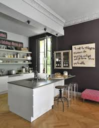 coin repas dans cuisine modle de cuisine avec ilot central ilot central avec bar 13