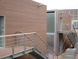 rivestimento facciate in legno rivestimenti esterni e facciate in legno composito ngwood decking