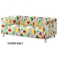 sofa klippan ikea cover klippan 2 seat loveseat sofa glottra multicolor