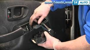 how to install replace master power window switch chevy s10 blazer