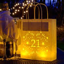 Birthday Decorations In Ireland 21st Birthday Paper Lantern Bag Party Decoration By Baloolah Bunting