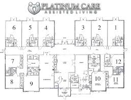 residential blueprints residential home blueprints gallery for assisted living facilities