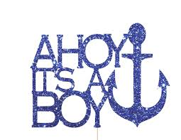 ahoy its a boy baby shower nautical baby shower decorations ahoy