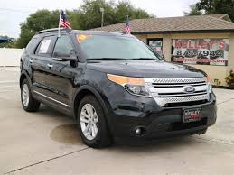 lifted 2013 ford explorer used black 2013 ford explorer stk 16836b kelley s used cars