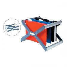 rexel crystalfile extra desk organiser frame for 30 a4 or 3000103