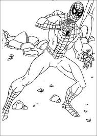 printable spiderman coloring pages kids color