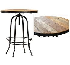 Reclaimed Wood Bar Table Ford Pub Table