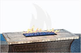 Glass Firepits Glass Pits Burners Blazing Glass