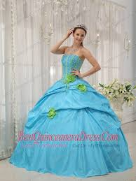baby blue quinceanera dresses made flowers baby blue quinceanera dress strapless taffeta beading